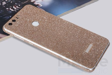 Huawei P9 Full Body Glitzer Sticker Bling Skin in GOLD / CHAMPAGNE – Bild 2