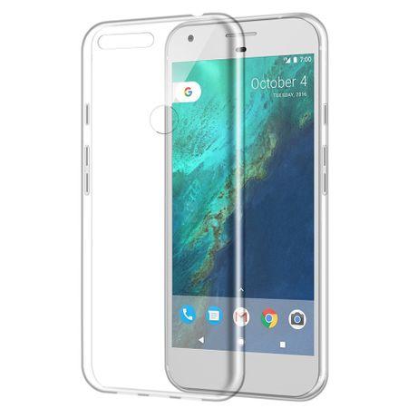 Google Pixel XL TPU Gummi Hülle Klar Silikon Crystal Clear Case TRANSPARENT