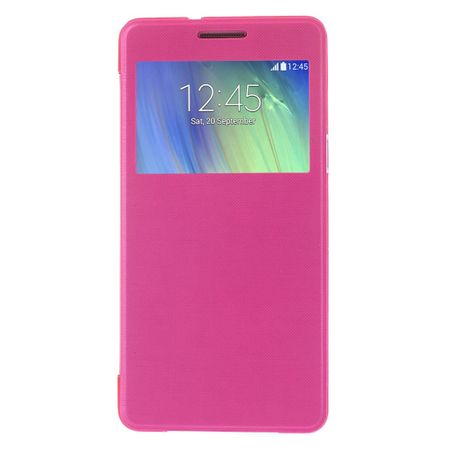Samsung Galaxy A3 2015 Window View Cover Etui PINK – Bild 4