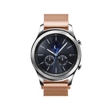 Samsung Gear S2 Classic ANKI Milanaise Edelstahl Armband ROSÉGOLD / ROTGOLD – Bild 3