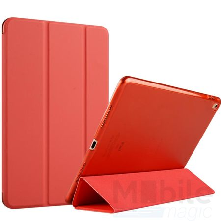 iPad Air Smart Etui Leder Hülle Case Tasche ROT