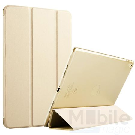iPad Air Smart Etui Leder Hülle Case Tasche GOLD