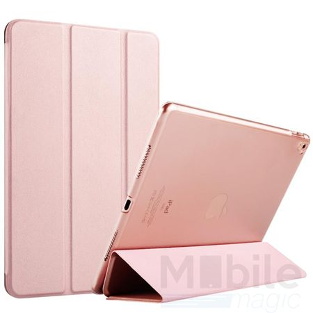 iPad Air 2 Smart Etui Leder Hülle Case Tasche ROSÉGOLD / ROSA