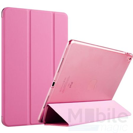 iPad Air 2 Smart Etui Leder Hülle Case Tasche PINK / ROSA