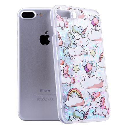 iPhone 7 Plus Einhorn Unicorn Liquid Quicksand Case – Bild 2