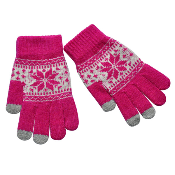 Sonstige Handschuhe Für Touch Screen Handy Tablet Ipad Iphone Dot Gloves Onesize Pink Handschuhe & Fäustlinge