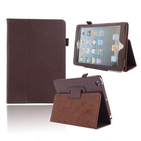 iPad Mini 1 / 2 / 3 Smart Flip Etui Hülle Leder Case Tasche BRAUN