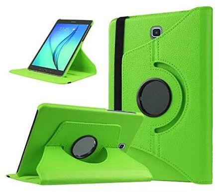 "Samsung Galaxy Tab S2 8.0"" 360° Flip Etui Tasche Cover Leder Case GRÜN"