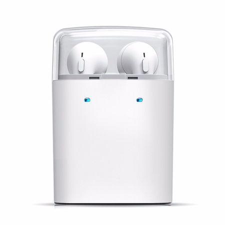 Dacom Bluetooth Mini Kopfhörer in Ear Headset Mikrofon WEISS – Bild 2