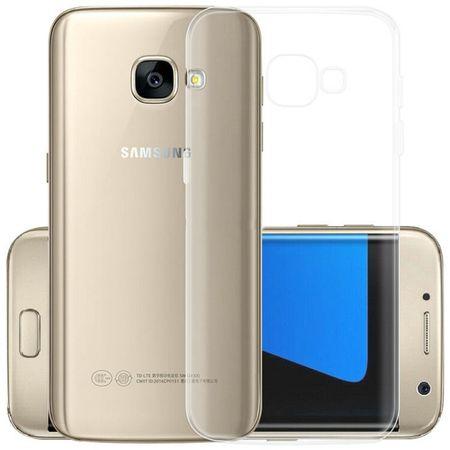 Samsung Galaxy A3 2017 TPU Gummi Hülle Klar Silikon Crystal Clear Case TRANSPARENT – Bild 1