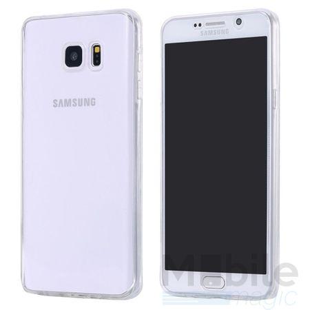Samsung Galaxy A3 2017 TPU Gummi 360° Hülle RUNDUM Schutz Silikon Klar TRANSPARENT – Bild 2