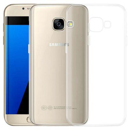 Samsung Galaxy A5 2017 TPU Gummi Hülle Klar Silikon Crystal Clear Case TRANSPARENT – Bild 2