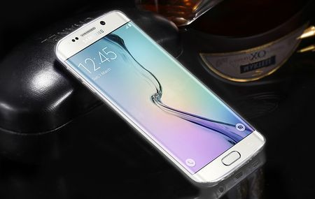 Samsung Galaxy S6 Edge Plus Gummi TPU Silikon Crystal Clear Case Cover Hülle Klar TRANSPARENT – Bild 5