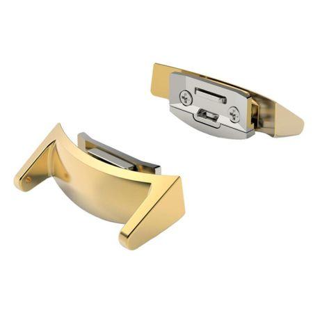 Samsung Gear S2 Sport ANKI Milanaise Edelstahl Armband GOLD – Bild 4