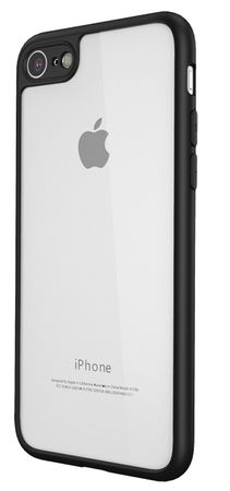 iPhone 6S Plus / 6 Plus Anki Crystal Hardcase Hülle Hard Cover Case SCHWARZ – Bild 1