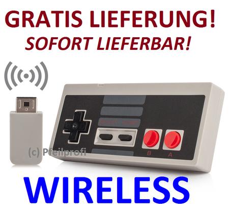 Wireless Kabellos Controller für Nintendo NES Classic Mini – Bild 1
