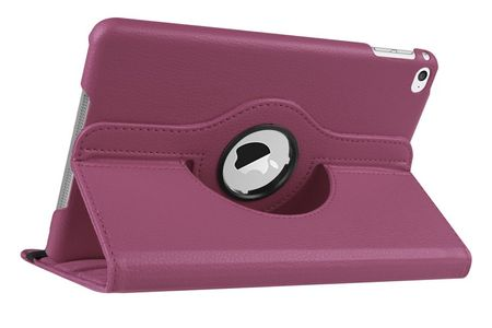 "iPad Pro 12.9"" 360° Flip Etui Tasche Cover Leder Case LILA VIOLETT – Bild 1"