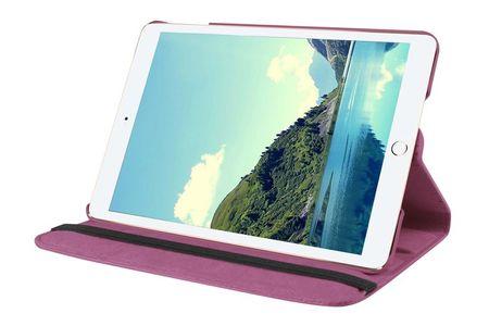 "iPad Pro 12.9"" 360° Flip Etui Tasche Cover Leder Case LILA VIOLETT – Bild 2"