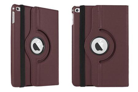 "iPad Pro 12.9"" 360° Flip Etui Tasche Cover Leder Case BRAUN – Bild 3"