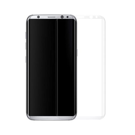 Samsung Galaxy S8 RANDLOS Panzerglas Glas Schutzfolie Schutzglas Curved Tempered Glass TRANSPARENT – Bild 1