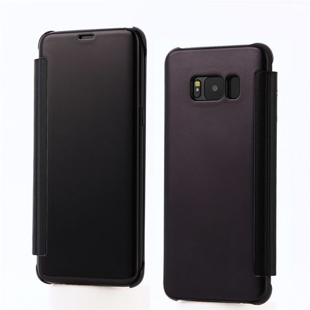 Samsung Galaxy S8 Clear Window View Case Cover Spiegel Mirror Hülle SCHWARZ – Bild 1