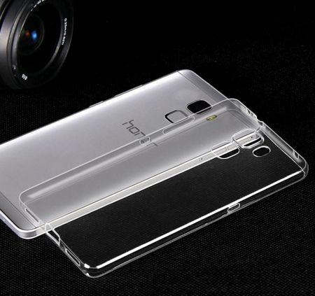 Huawei Honor 7 Gummi TPU Silikon Crystal Clear Case Cover Hülle Klar TRANSPARENT