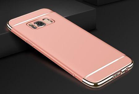Samsung Galaxy S8 Anki Royal Hard Case Cover Hülle ROSÉGOLD Pink – Bild 2