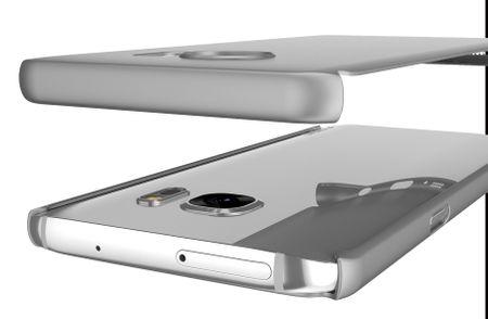 Samsung Galaxy S8 Plus Komplett Schutz Case + Schutzfolie Full Protection Cover Hülle SILBER – Bild 2