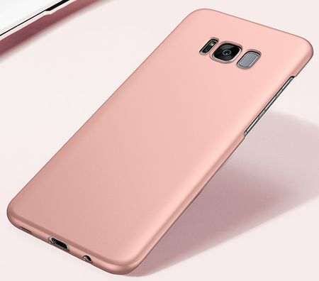 Samsung Galaxy S8 Plus Anki Shield Hardcase Cover Case Hülle ROSÉGOLD Pink