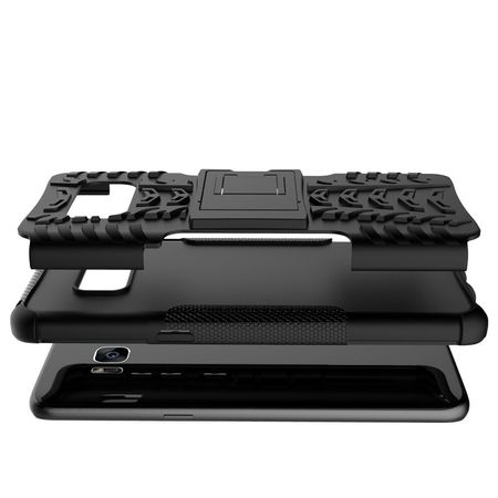 Samsung Galaxy S8 Plus Hybrid Outdoor Case SCHWARZ – Bild 4