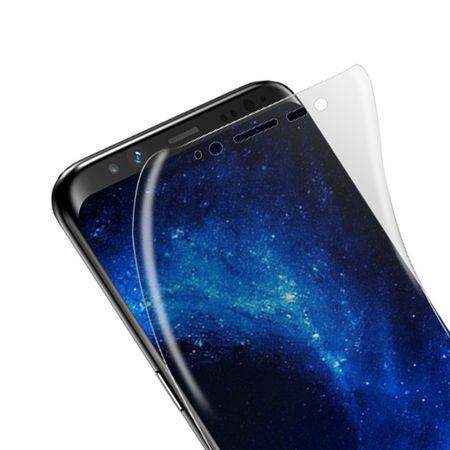 Samsung Galaxy S8 Plus ABGERUNDETE TPU Schutzfolie VORDERSEITE Ultra Clear – Bild 2