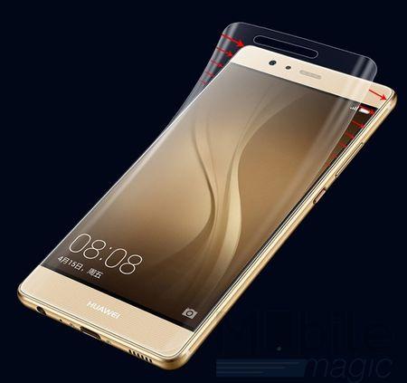 Huawei P10 Plus ABGERUNDETE TPU Schutzfolie VORDERSEITE Ultra Clear – Bild 1