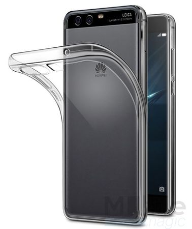 Huawei P10 Plus TPU Gummi Hülle Klar Silikon Crystal Clear Case TRANSPARENT