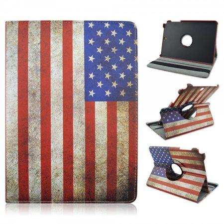 "Samsung Galaxy Tab A 9.7"" Flip Etui Tasche Hülle Leder Case USA Amerika – Bild 2"