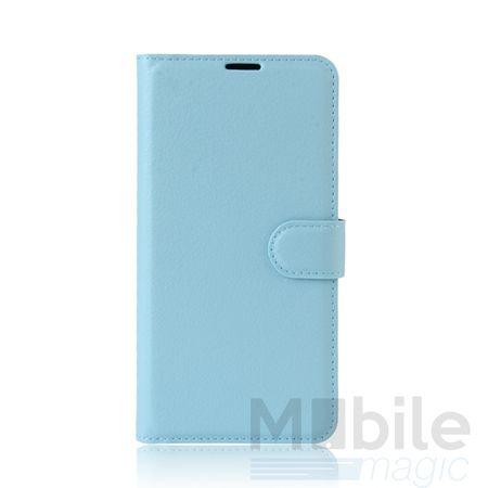 Huawei Honor 6X Flip Etui Leder Case Tasche Hülle mit Kartenfach BLAU – Bild 2