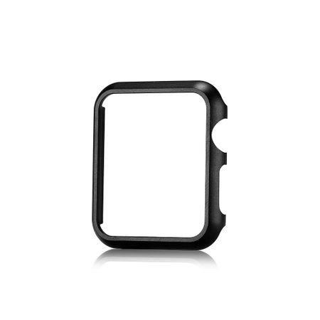 Apple Watch 42mm Series 1 / 2 Hard Case Cover Hülle SCHWARZ
