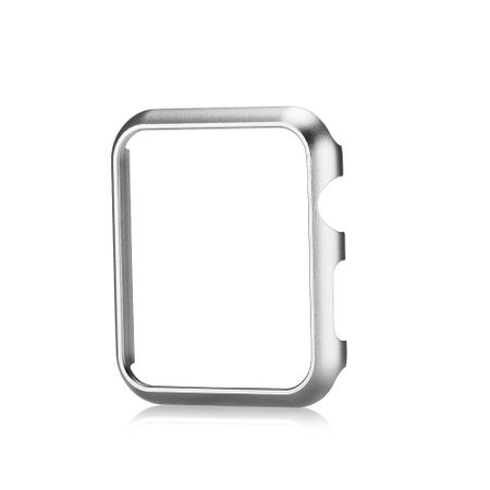 Apple Watch 42mm Series 1 / 2 Hard Case Cover Hülle SILBER