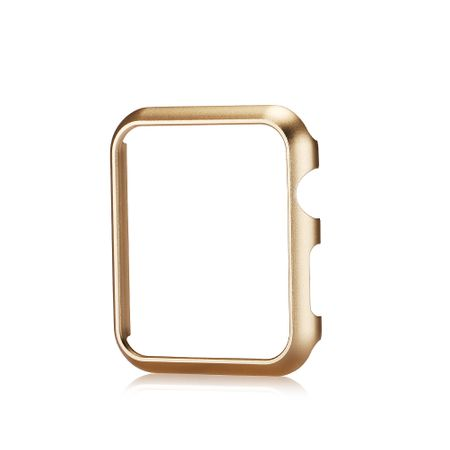 Apple Watch 38mm Series 1 / 2 Hard Case Cover Hülle GOLD