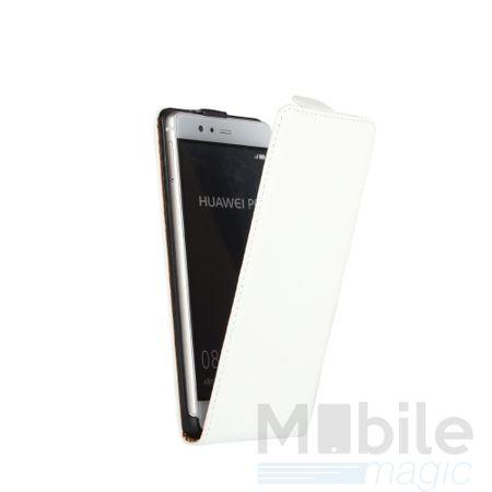 LG G6 / G6+ Leder Flip Case Cover Etui Tasche Vertikal Hülle WEISS – Bild 2