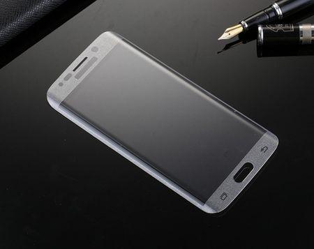 Samsung Galaxy S6 Edge ABGERUNDETES Curved Panzerglas Tempered Glass Glas Schutzglas Folie Schutzfolie TRANSPARENT CLEAR – Bild 3