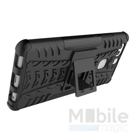 LG G6 / G6+ Hybrid Outdoor Case SCHWARZ – Bild 2