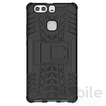 LG G6 / G6+ Hybrid Outdoor Case SCHWARZ – Bild 4