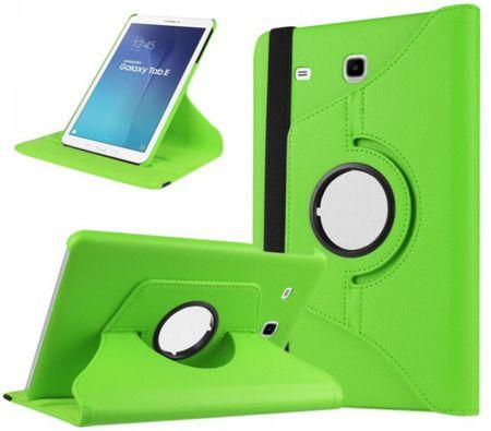 "Samsung Galaxy Tab E 9.6"" 360° Flip Etui Tasche Leder Case GRÜN – Bild 1"