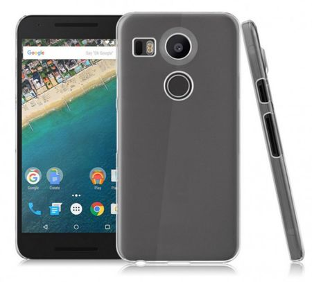 LG ( Google ) Nexus 5X Gummi TPU Silikon Crystal Clear Case Cover Hülle TRANSPARENT Klar – Bild 3