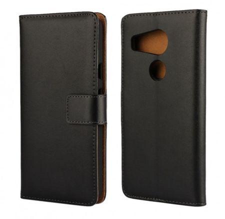 LG Nexus 5X ( Google ) Flip Etui Tasche Leder Case Hülle SCHWARZ – Bild 3