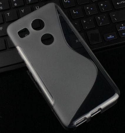 LG Nexus 5X ( Google ) S-Line Gummi TPU Silikon Case Transparent  – Bild 2
