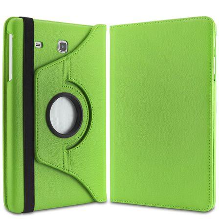 Samsung Galaxy Tab A 10.1 P580 P585 S-Pen 360° Flip Etui Leder Smart Case Tasche Hülle GRÜN – Bild 4