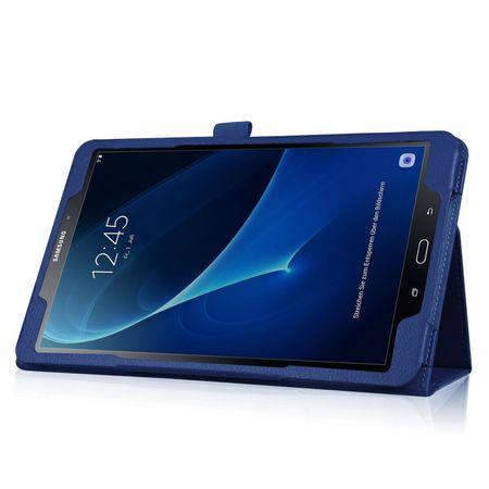 Samsung Galaxy Tab S3 9.7 Leder Smart Case Cover Etui Hülle Tasche BLAU – Bild 3