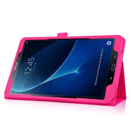 Samsung Galaxy Tab S3 9.7 Leder Smart Case Cover Etui Hülle Tasche PINK Rosa – Bild 3