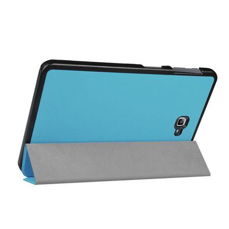 Samsung Galaxy Tab S3 9.7 Smart Etui Leder Hülle Case Tasche BLAU – Bild 4